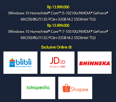 HARGA Laptop ASUS VivoBook S14 S433