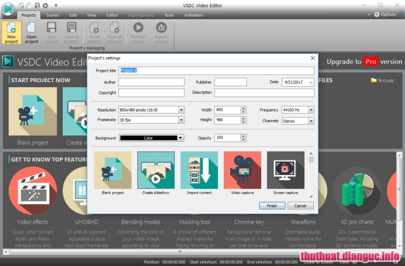 Download VSDC Video Editor Pro 6.3.2 Full key, phần mềm chỉnh sửa video, phần mềm chỉnh sửa video tốt nhất, VSDC Video Editor Pro, VSDC Video Editor Pro free download, VSDC Video Editor Pro full key