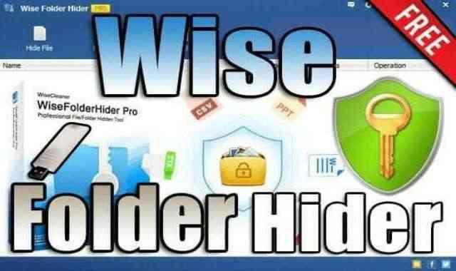 تحميل برنامج Wise Folder Hider v4.3.9.199 Portable نسخة محمولة مفعلة اخر اصدار