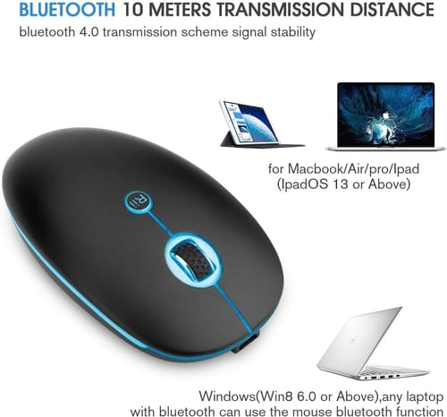Review Rii RM300 Slim Rechangable Wireless Mouse