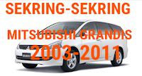 sekring MITSUBISHI GRANDIS 2003-2011