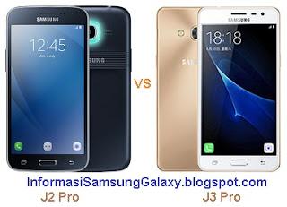 Perbandingan Samsung J2 Pro 2016 vs J3 Pro