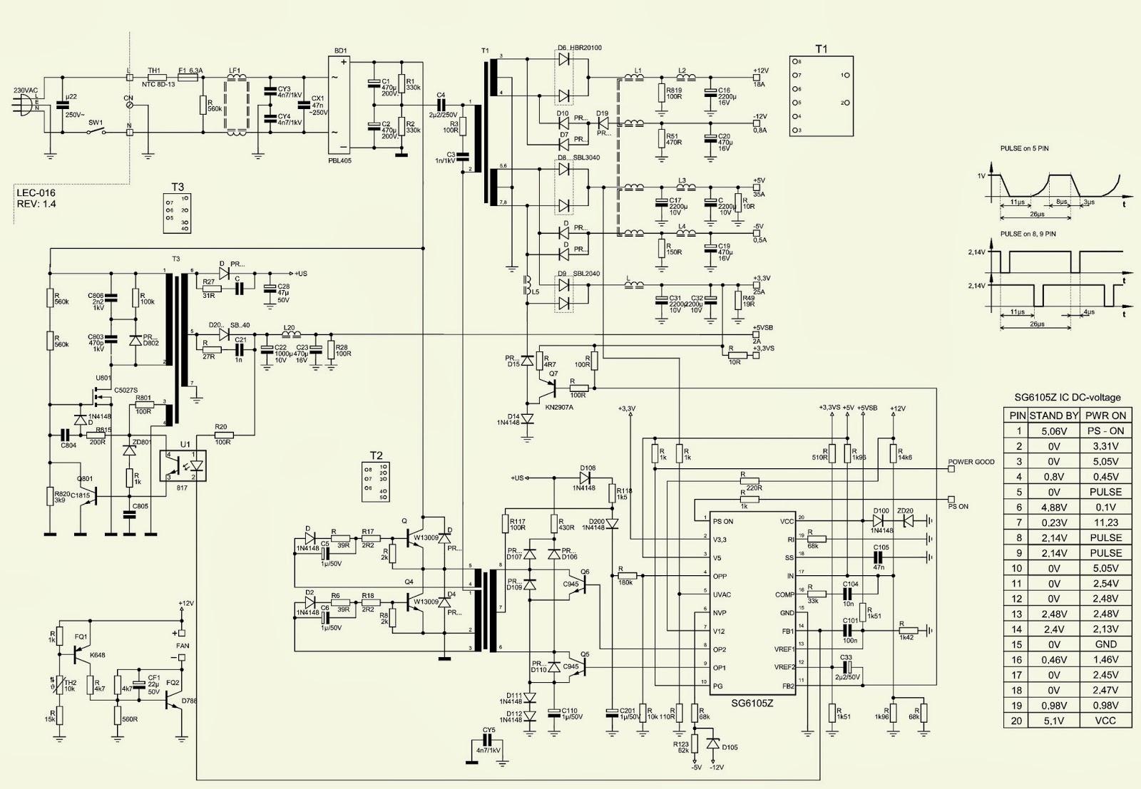 400 WATTS ATX POWER SUPPLYP4  DESKTOP COMPUTERS