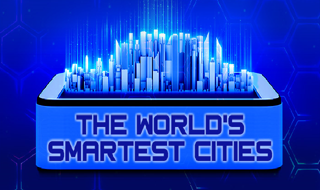 The world's smartest cities #infographic