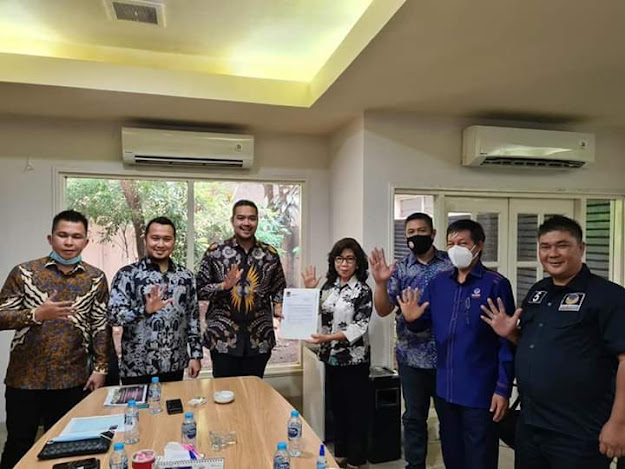 DPP NasDem Keluarkan Rekomendasi Dukung JPAR - Ai Calon Walikota dan Wakil Walikota Manado