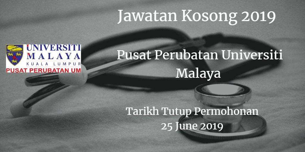 Jawatan Kosong PPUM 25 June 2019