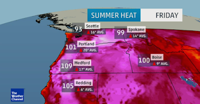Record-Breaking Heat Wave Hits Canada, United States