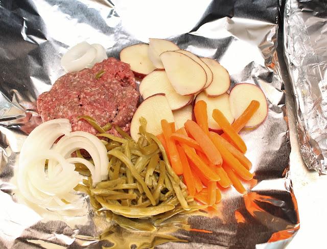 Summertime Foil Dinner Recipe