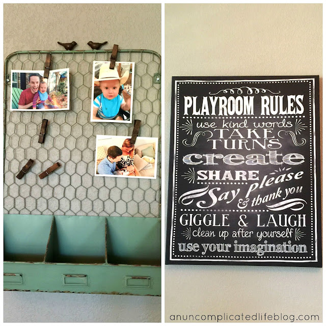 Wall decor ideas for playrooms or nurseries