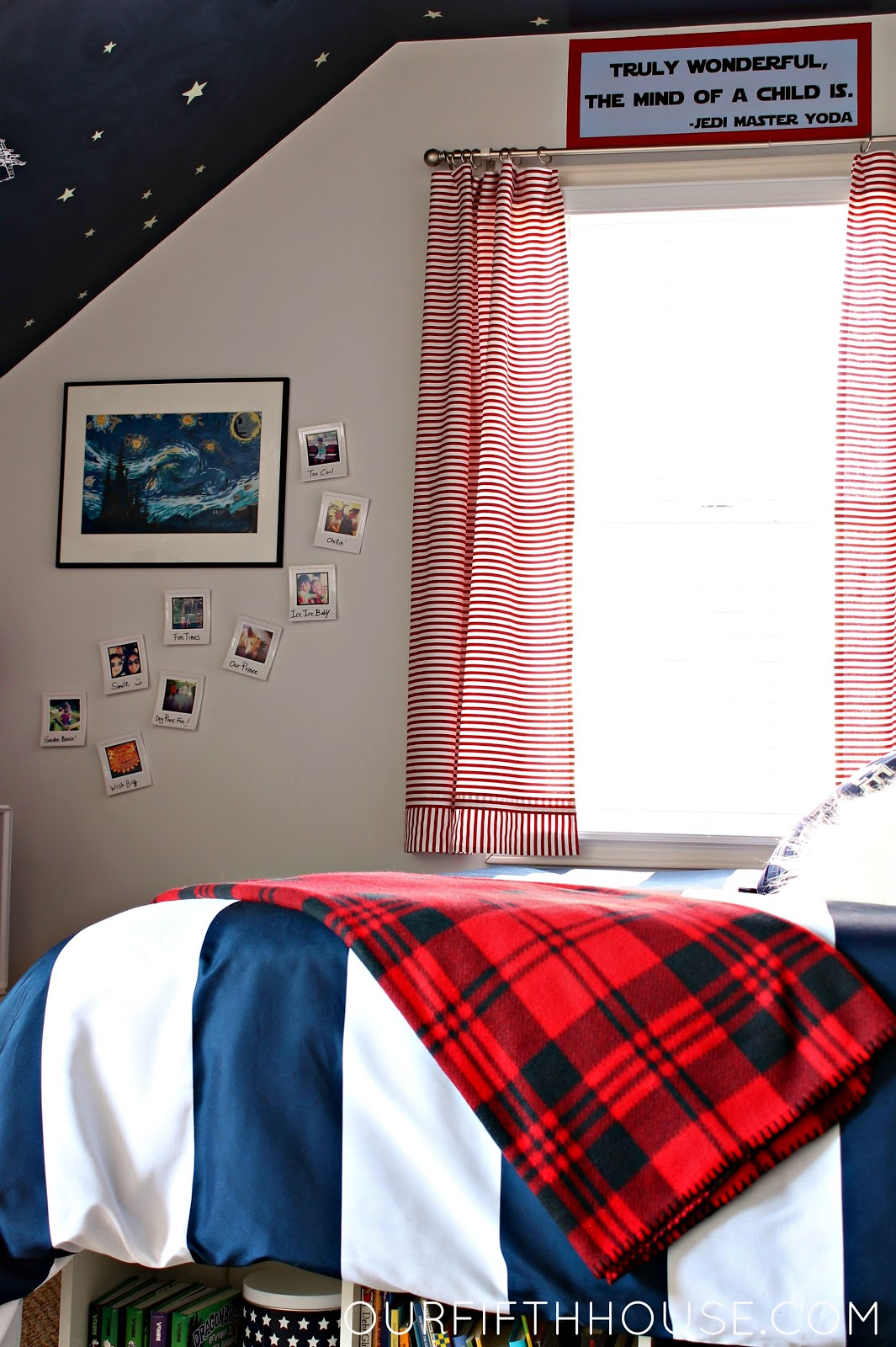 Star Wars Bedrooms My Star Wars Loving Boy 39s Bedroom Our Fifth House