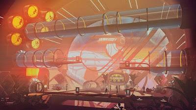 تجربة العبة Headlander PC رحلة الروبوت المجنون