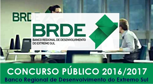 Apostila Concurso BRDE 2017
