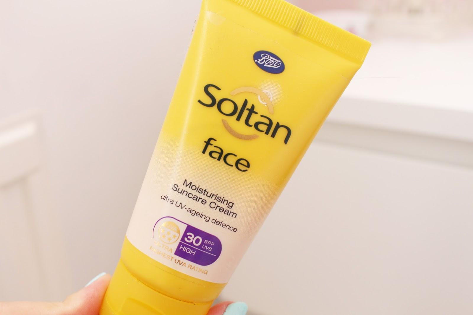 Boots Soltan Face SPF 30