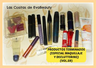 Productos Terminados (Especial Maquillaje y Decluttering) (Vol.59)