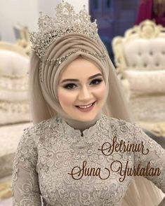cara pakai hijab pengantin 2021