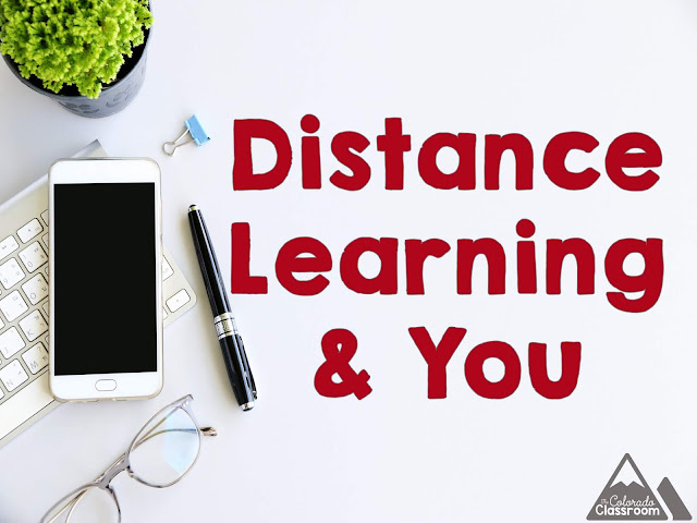 Ideas and resources to help with distance learning.