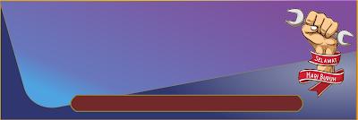 Template mentahan spanduk banner hari buruh PNG siap edit - kanalmu