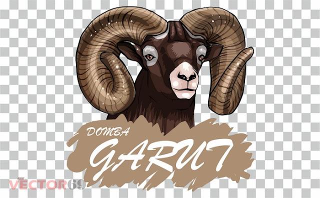 Kepala Domba Garut - Download Vector File PNG (Portable Network Graphics)