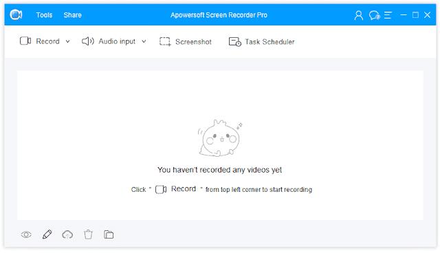 Screenshot Apowersoft Screen Recorder Pro 2.4.1.2 Full Version