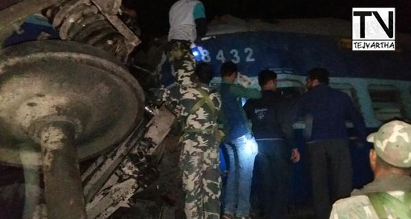 Train Accident, Vijayanagaram District Train Accident, Kooneru Railway Station, Hirakhand Express Train Accident, Jagadalpur To Bhuvaneshwar Train Accident, Train Accident In AP, Train Accident In Vishakapatnam,