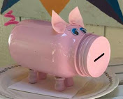 KIDS CLASS - MASON JAR PIGGY BANK
