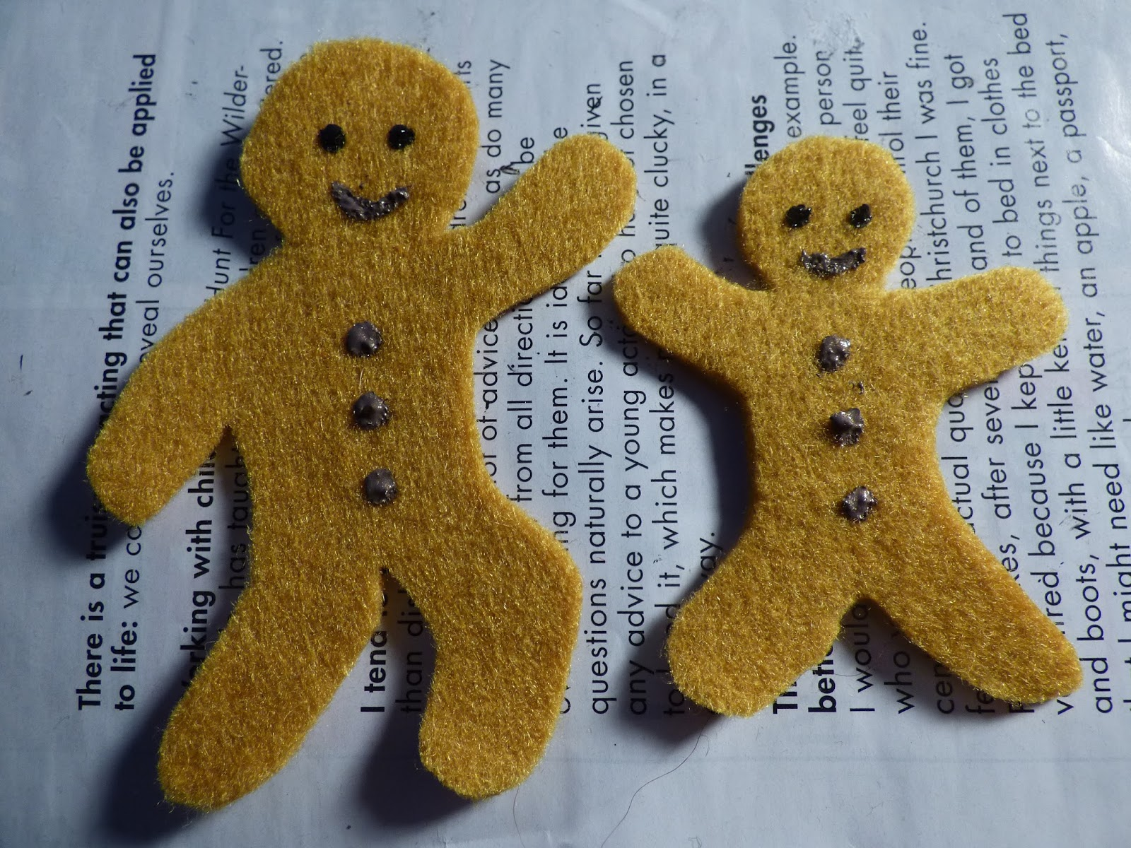 Needlefelted Fairytales The Gingerbread Man