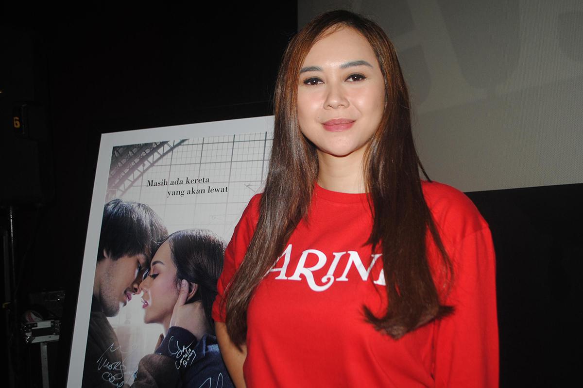 Arini Film Aura Kasih jadi Tante Girang