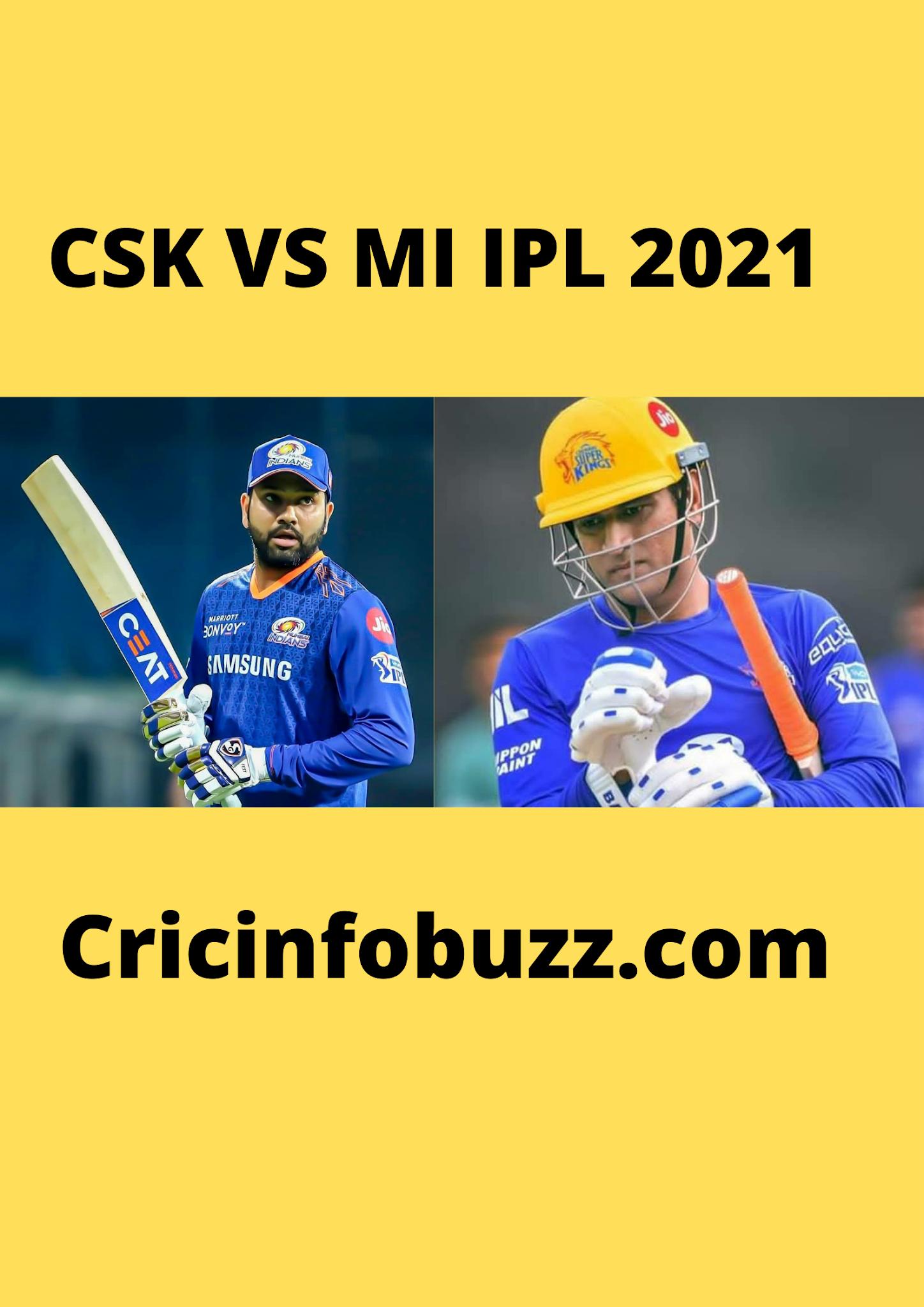 CSK vs MI live match