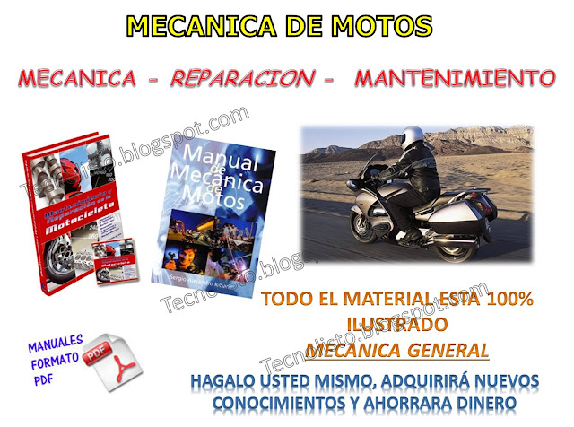 """Manual de Mecánica general de Motos"""