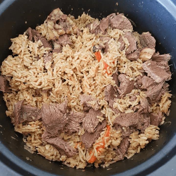 resepi nasi daging utara
