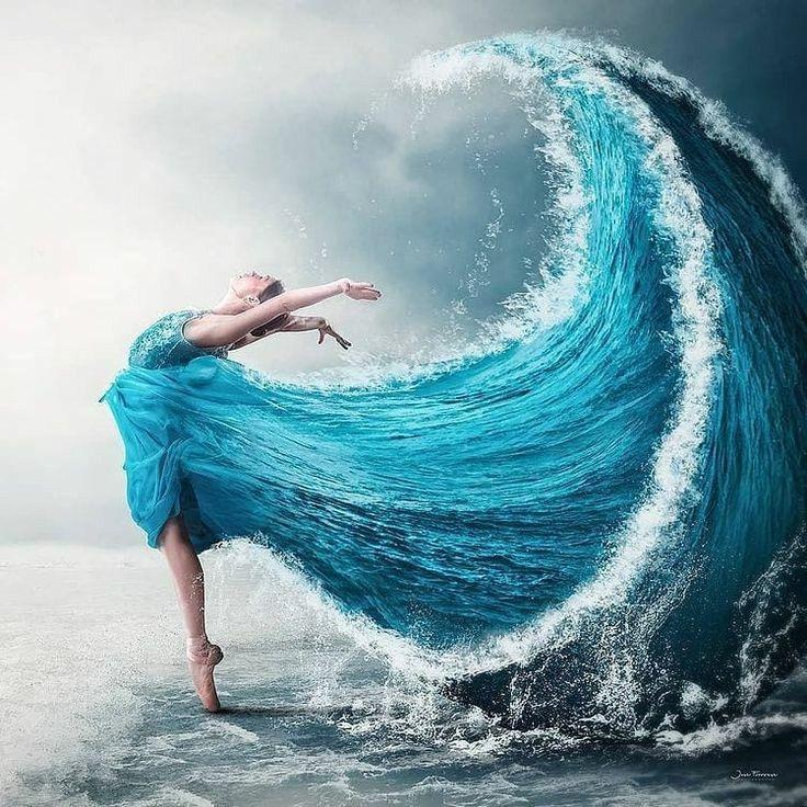 Un albastru infinit