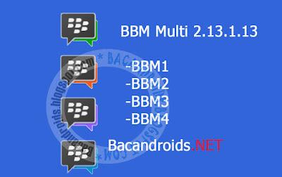 download BBM Multi Clone BBM2+BBM3+BBM4 Apk Versi 2.13.1.13 Terbaru