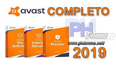 PH Downs: Avast Premier 2019 + Crack e Serial - Download