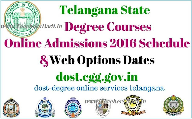 TS Online Degree Admissions,Web Options,Schedule