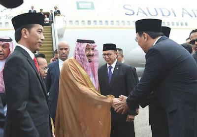 Ahok Salaman Dengan Raja Salman