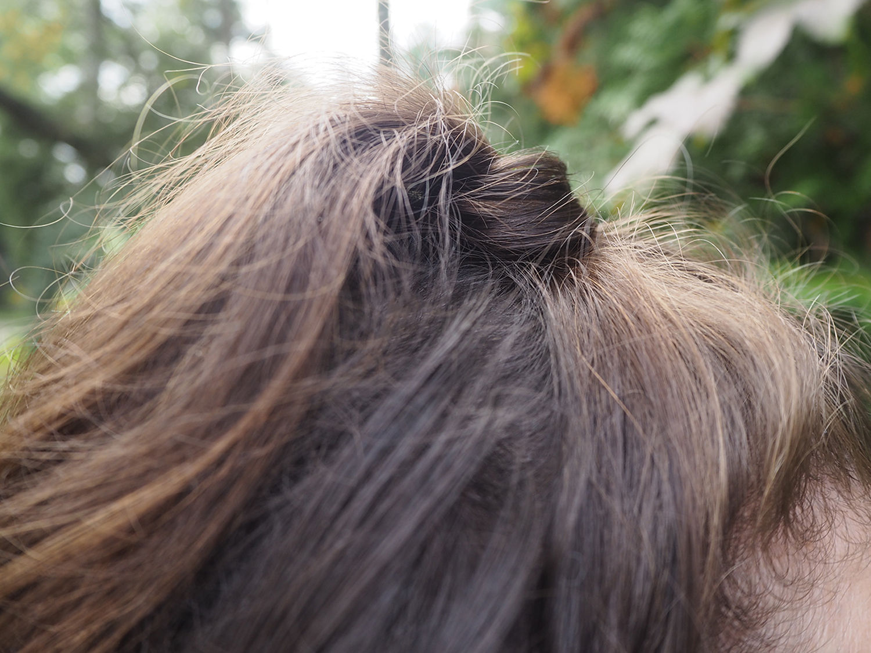 Signature-Frisur 2020: Half-Updo mit verstecktem Zopf