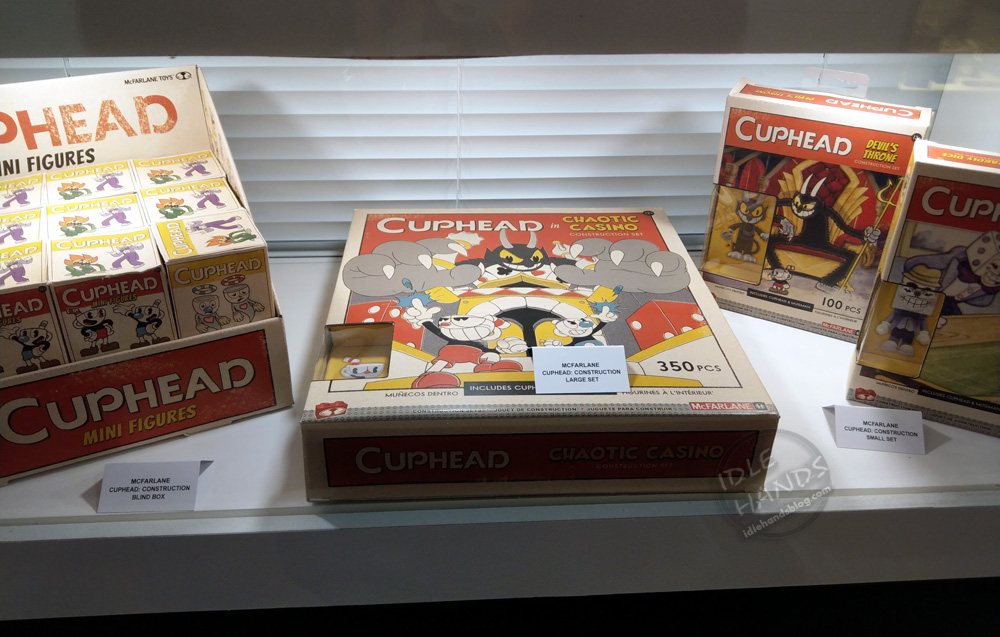 Idle Hands Toy Fair 2019 Mcfarlane Takes On Cuphead