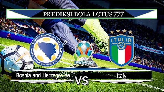Prediksi Bosnia and Herzegovina vs Italy 16 November 2019