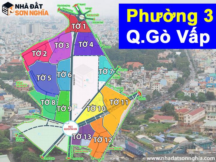 Thông tin quy hoạch bản đồ phường 3 quận Gò Vấp