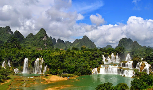 Cataratas de Detian – China e Vietnã