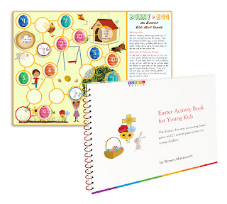 Image: Free  Easter board game and Activities