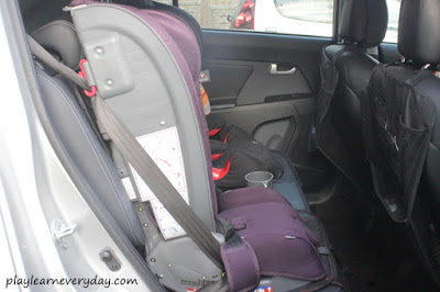 car seat in the car