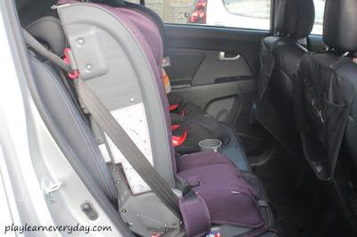car seat in the car