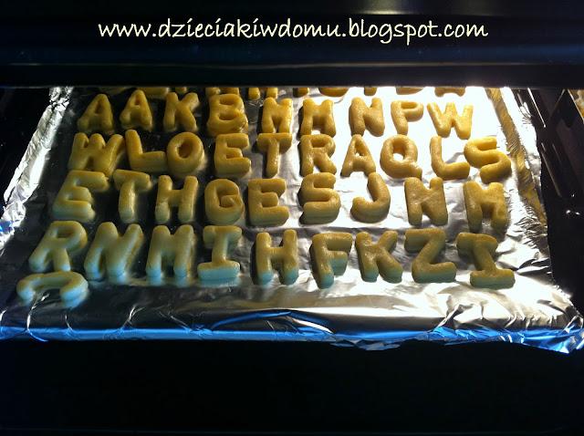 ciasteczkowe literki