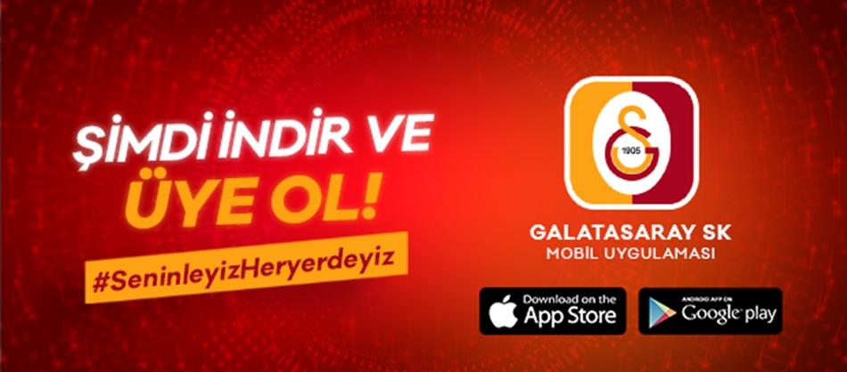 Galatasaray'dan mobil uygulama!