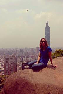 Elephant Mountain et tour 101 à Taipei, Taiwan