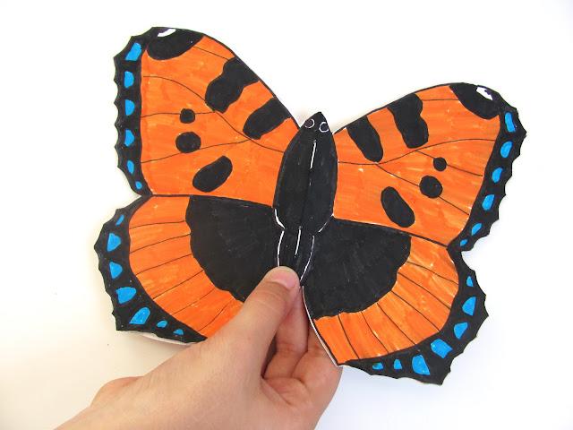 Книжка про бабочку своими руками