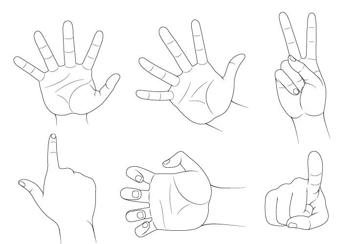 Gambar pose tangan