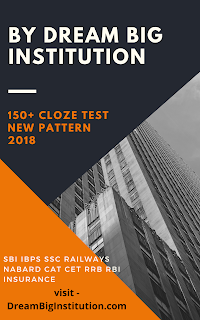 Cloze Test PDF For SSC,SBI, IBPS, Exams