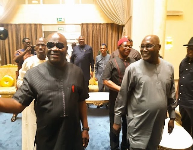 Former Vice President, Alhaji Atiku Abubakar reacts as Nyesome Wike, Fintiri gets new appointment